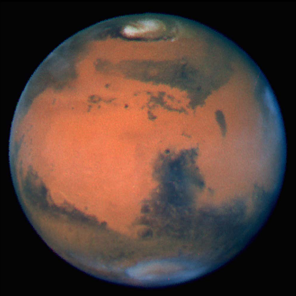 mars planet appearance - photo #10