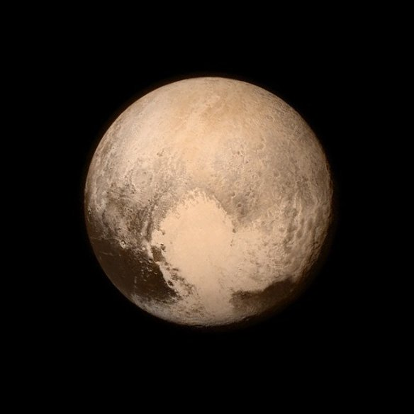 New Horizons photograph of Pluto